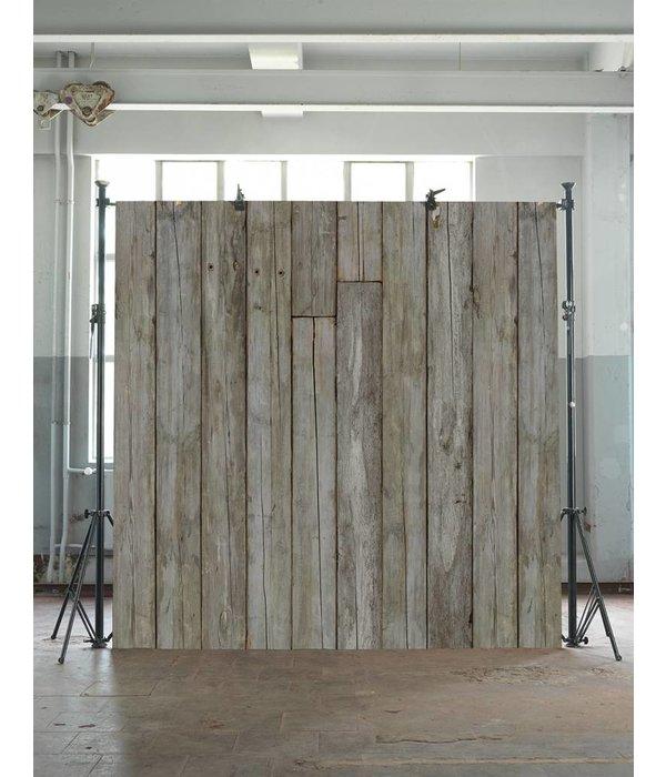 Piet Hein Eek Behang Piet Hein Eek - verweerde planken bruin naturel wit Wallpaper