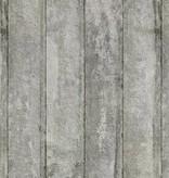 Piet-Boon Behang Piet Boon - brede licht grijze platen beton Wallpaper