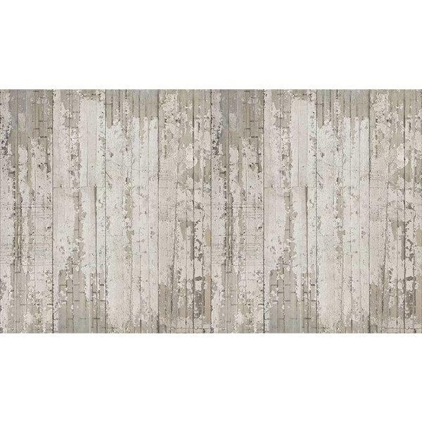 Behang Piet Boon - verweerde smalle stroken beton
