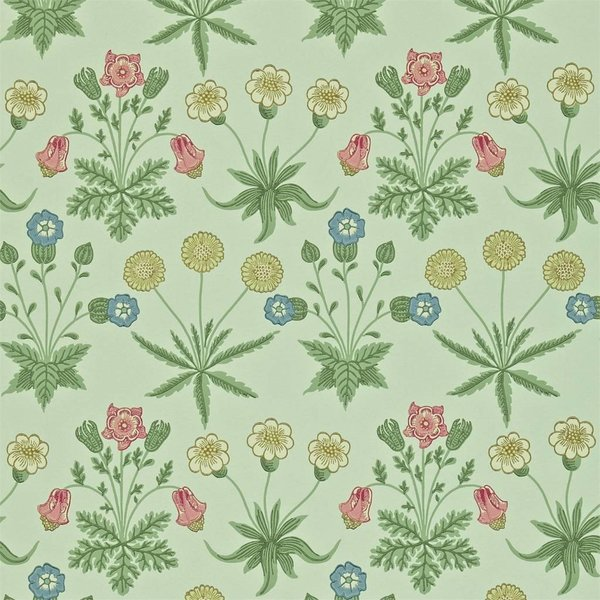 Daisy - Pale Green/Rose