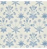 Morris-Co Daisy Blue/Ivory 212561