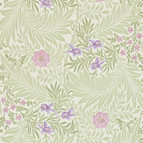 Larkspur - Olive/Lilac