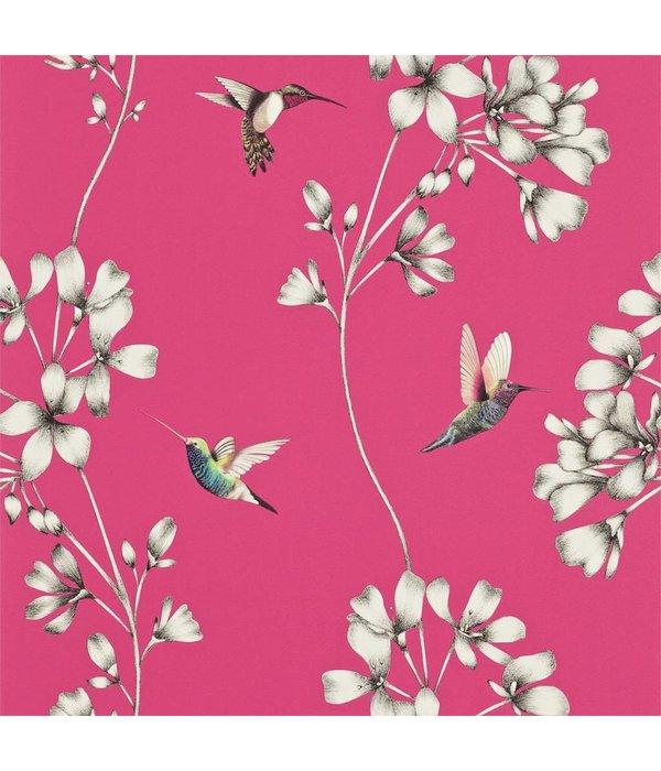 Harlequin Amazilia Flamingo (Roze) 111058 Behang