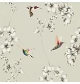 Harlequin Amazilia Zilver 111062 Wallpaper