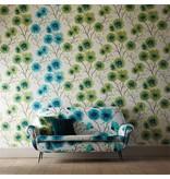 Harlequin Kabala Lagoon (Bruin, Blauw) Wallpaper