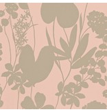 Harlequin Nalina Peach (Glinsterend (!) Goud, Zacht Oranje) 111051 Wallpaper