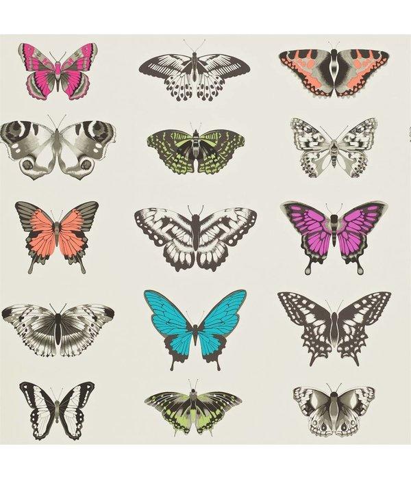 Harlequin Papilio Roze, Paars, Grijs, Groen, Zwart 111079 Behang