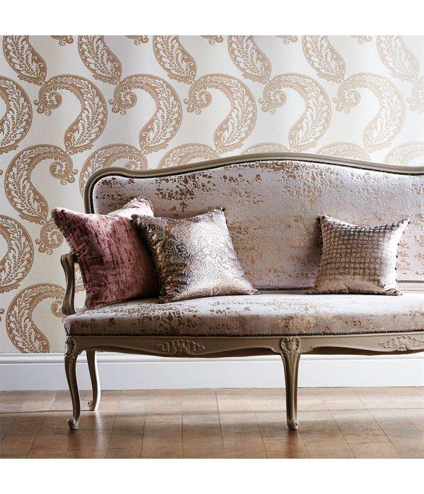 Harlequin Adella Blush (Pastel Roze / Beige) 110605 Behang