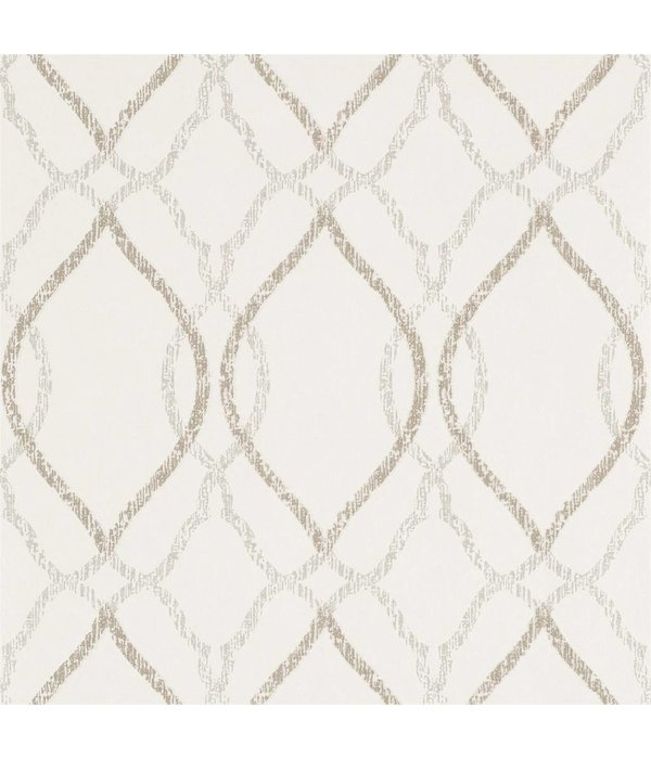 Harlequin Comice Pearl (Wit) 110607 Wallpaper