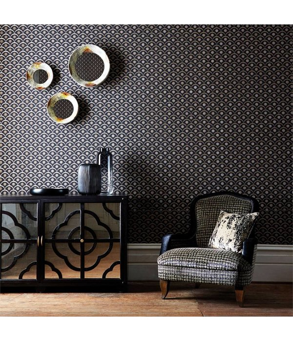 Harlequin Demi Blush (Beige / Roze) 110613 Wallpaper