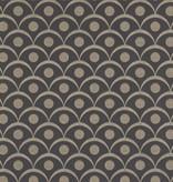 Harlequin Demi Onyx (Antraciet Grijs) 110616 Behang