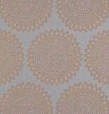 Harlequin Medina Titanium (Grijs, Goud) 110628 Behang