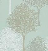 Harlequin Entice Licht Blauw, Beige 110097 Wallpaper