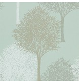 Harlequin Entice Licht Blauw, Beige 110097 Behang