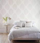 Harlequin Leaf Wit, Beige 110369 Wallpaper