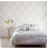 Harlequin Leaf Pearl, Beige 110375 Wallpaper