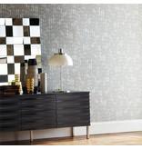 Harlequin Links Grijs Met Een Sparkle 110368 Behang