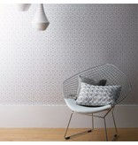 Harlequin Trellis Pebble, Goud 110378 Wallpaper