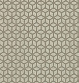 Harlequin Trellis Pebble, Goud 110378 Behang