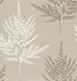 Harlequin Folium Stone/Gilver And Chalk 110590 Wallpaper