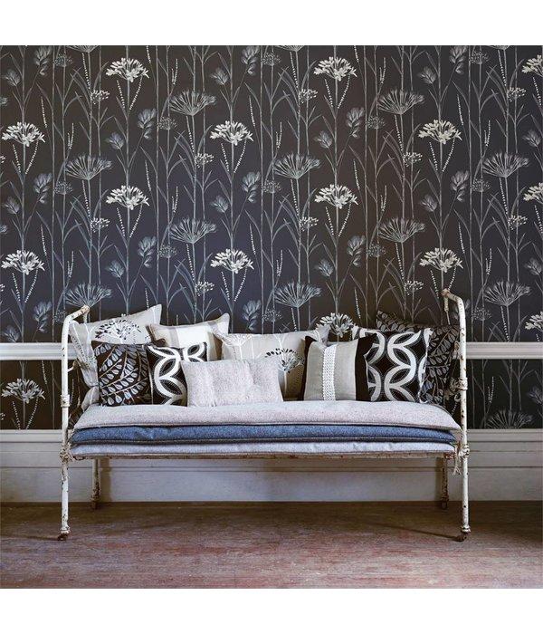 Harlequin Gardinum Ivoor Wit, Goud 110554 Wallpaper