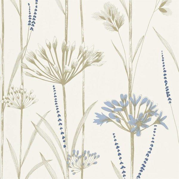 Gardinum Kalk Wit, Blauw, Goud 110557