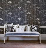 Harlequin Gardinum Licht Blauw, Goud, Wit 110558 Wallpaper