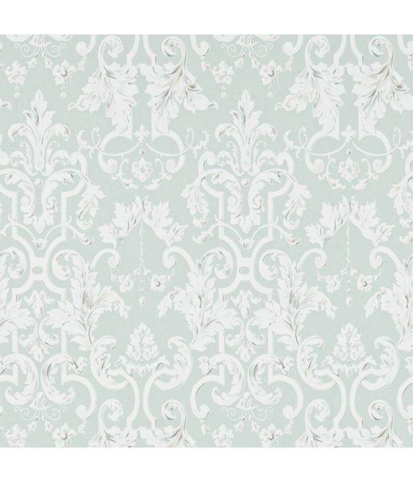 Zoffany Marmorino Platinum Grey (Licht Grijs, Wit) 312033