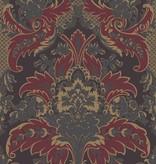 Cole-Son Aldwych Rood Zwart 94/5029 Wallpaper