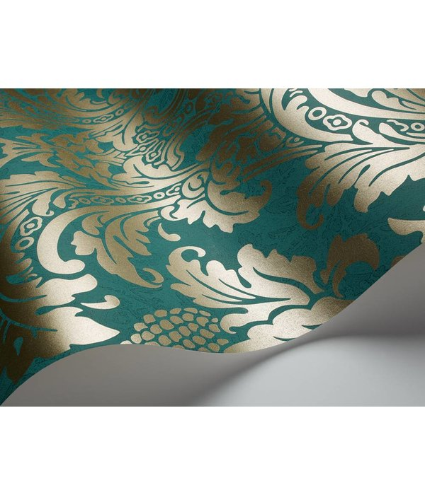 Cole-Son Blake Turquoise 94/6031 Wallpaper