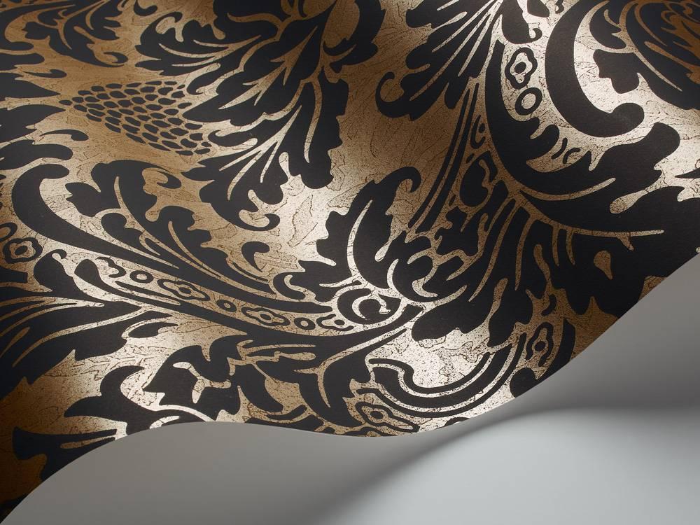 Blake zwart goud 94 6033 de mooiste muren - Behang zwart en goud ...