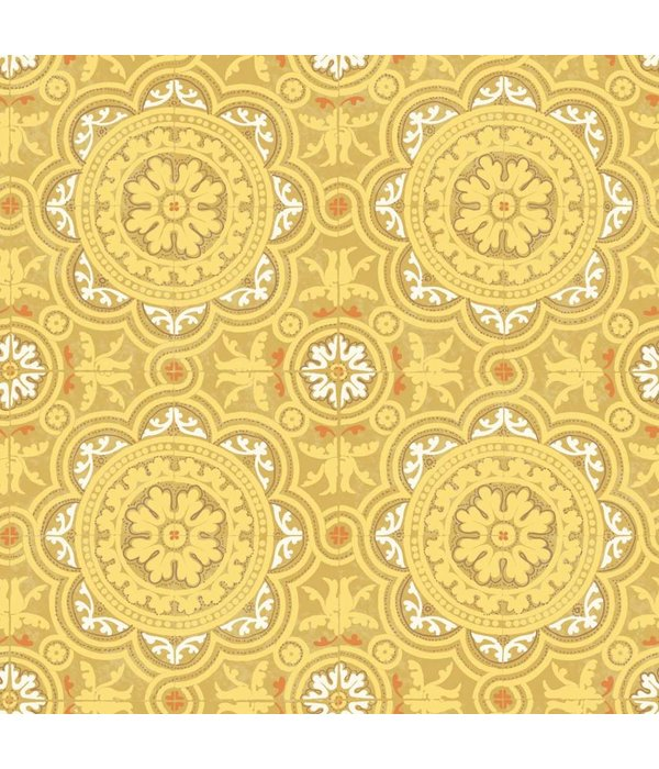 Cole-Son Piccadilly Geel 94/8046 Wallpaper