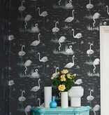 Cole-Son Flamingos Licht Blauw 95/8047 Wallpaper