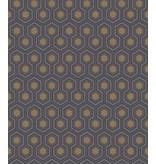 Cole-Son Hicks' Hexagon Donkergrijs 95/3015 Behang