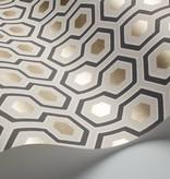 Cole-Son Hicks' Hexagon Lichtgrijs 95/3016 Behang