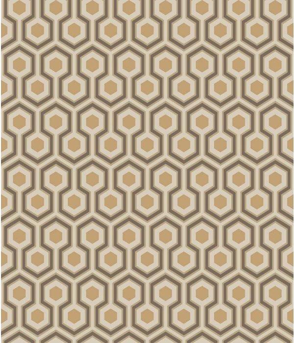 Cole-Son Hicks' Hexagon Beige 95/3017 Behang