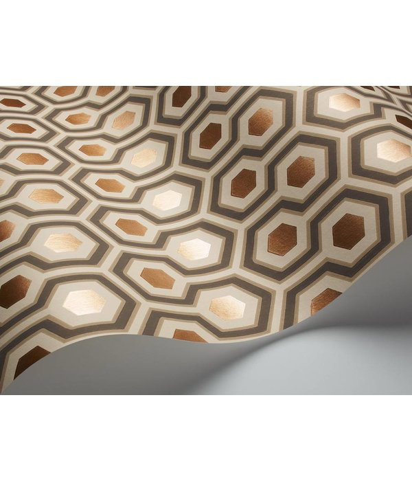 Cole-Son Hicks' Hexagon Beige 95/3017 Wallpaper