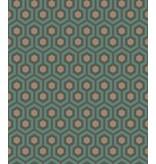 Cole-Son Hicks' Hexagon Petrol 95/3018 Behang