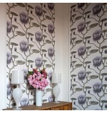 Cole-Son Lily Wit Zwart 95/4020 Wallpaper