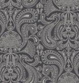 Cole-Son Malabar Zwart 95/7043 Wallpaper