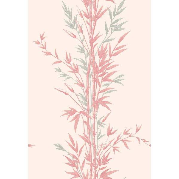 Bamboo Ivoor Wit, Zilver Grijs, Roze (Pink) 100/5024