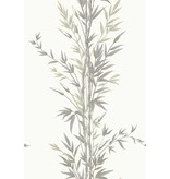 Cole-Son Bamboo Ivoor Wit, Antraciet Grijs (Charcoal) 100/5025 Behang