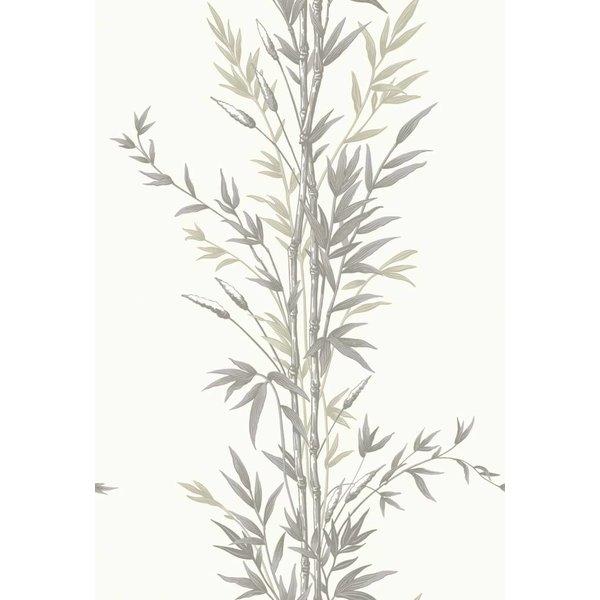 Bamboo Ivoor Wit, Antraciet Grijs (Charcoal) 100/5025