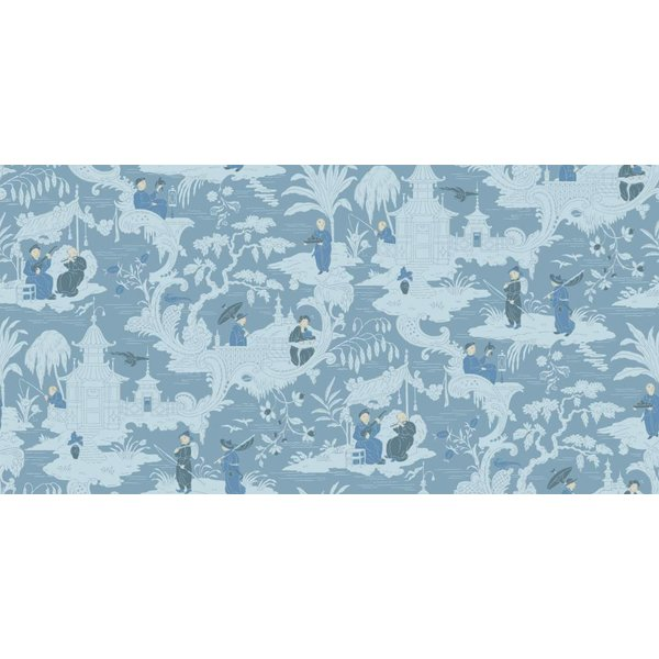 Chinese Toile Blue (Blauw) 100/8038
