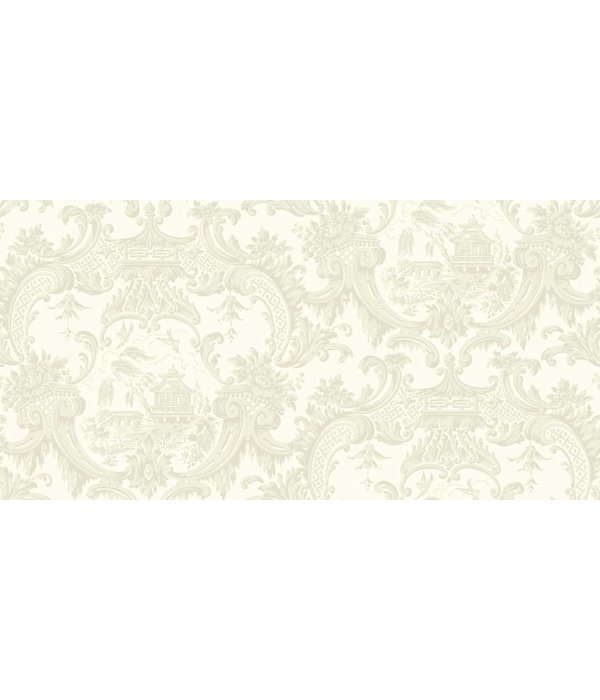 Cole-Son Chippendale China Ivory (Wit) 100/3010 Behang