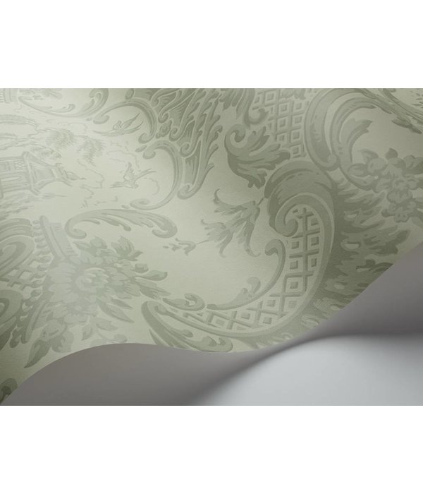 Cole-Son Chippendale China Olive (Groen) 100/3013 Behang