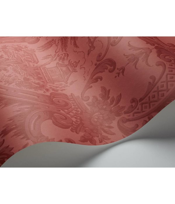 Cole-Son Chippendale China Red (Rood) 100/3015 Wallpaper