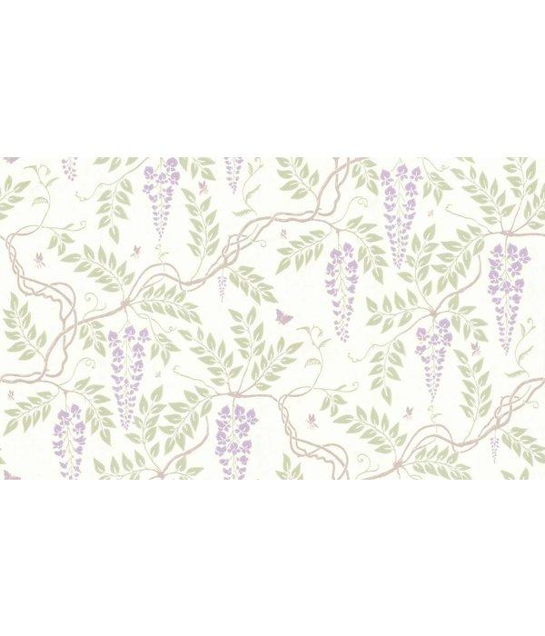 Cole-Son Egerton Lilac (Wit, Lila) 100/9045 Wallpaper