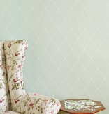 Cole-Son Large Georgian Rope Trellis Straw (Geel) 100/13063 Wallpaper