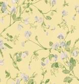 Cole-Son Sweet Pea Groen, Blauw, Geel 100/6029 Wallpaper